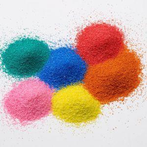 Άμμος χρωματιστή