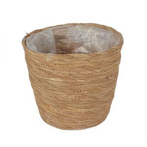 Straw basket.