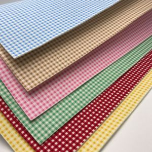 Nonwoven printed square