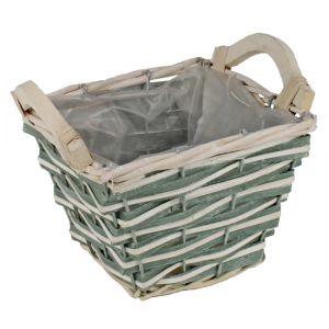 Bamboo basket.