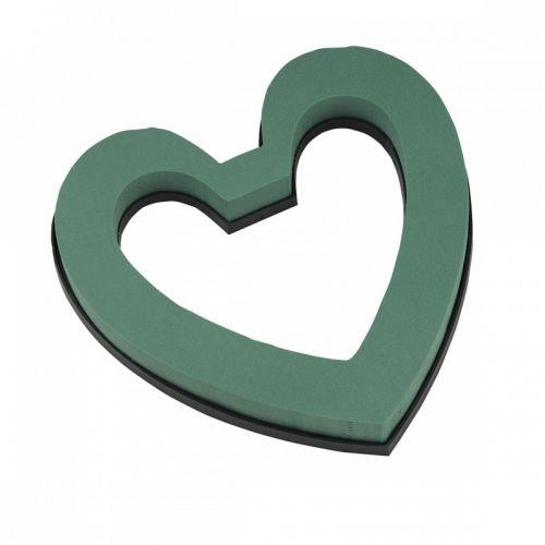 Καρδιά ανοιχτή πλαστική βάση