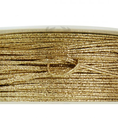 Κορδόνι μεταλλικό χρυσό