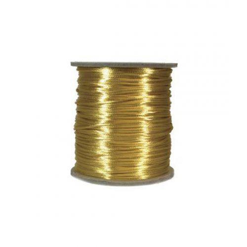 Κορδόνι μεταλλικό χρυσό 2mm