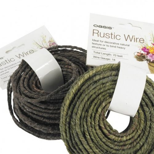 Rustic wire.